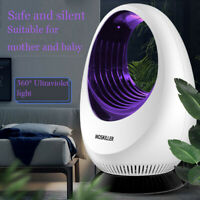 LED Electronic Mosquito Killer Lamp USB Charging Insect Bug Fly Trap Pest Zapper