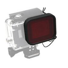 4pcs immersioni foto filtro rosso//giallo//viola//grigio Lens per GoPro Hero 4 3