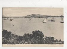 Falmouth Harbour 1907 Postcard 878a