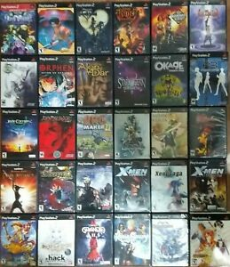 RPG Role Playing Games Ps2/PS1 TESTED Final Fantasy Persona Castlevania