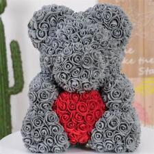 2019 Rose Flower Bear Gift 38cm Girlfriend Birthday Valentine Day Gift