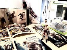 ASSASSINS CREED 1 Limited Collectors Edition •RARE• Altair Figure Xbox 360 CIB