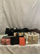 Lot of 11 Designer Bags including Coach, bebe, Vera Bradley designs, etc.