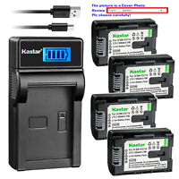 Kastar Battery LCD Charger for JVC BN-VG108, BN-VG108U, BN-VG108US, BN-VG108USM