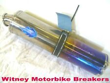 SILENCER MUFFLER BLUE FLAME MAY/NOT FIT SUZUKI GSXR600 2001-03 GSXR750 2000-03
