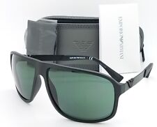 Emporio Armani sunglasses EA4029 504271 64mm Matte Black Grey AUTHENTIC Square