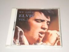 ELVIS PRESLEY - WE LOVE ELVIS VOL.2 - CD MADE IN JAPAN - 1989 - RARE CD MINT
