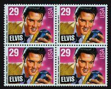 Elvis! block of 4 mnh 1993 USA #2721