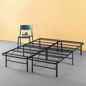 Zinus 14 Inch Classic SmartBase 5FT King Platform Bed Frame Noise-Free Black