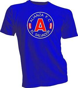 Alianza FC San Salvador El Salvador Football Soccer T Shirt Camiseta  Handmade