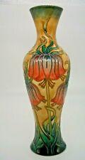 Moorcroft Crown Imperial Vase Limited Edition by Rachel Bishop