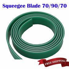 US 6ft Screen Printing Polyurethane Squeegee Blade 70/90/70 Triple Duromete