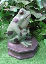 Classic Frog Toad Octagon Base Latex Fiberglass Production Mold Concrete Plaster