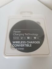 """Chargeur induction Samsung noir """"Wirless Charger Convertible"""""""