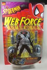 SPIDER-MAN-web-Swamp Spidey-ACTION FIGURE-TOYBIZ 1997-FORZA WEB