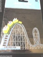 JOLEE'S ROLLER COASTER Amusement Park   3D Scrapbook Stickers  1 pc