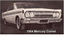 1964 Mercury Comet Auto Refrigerator / Tool Box Magnet