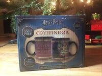 New Harry Potter Sorting Hat Heat Reveal Gryffindor Mug Limited Edition 20 oz