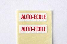 NOREV ANCIEN AUTOCOLLANT AUTO ECOLE POUR SERIE JET CAR
