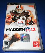 Madden NFL 12 Sony PSP Factory Sealed! Free Shipping!