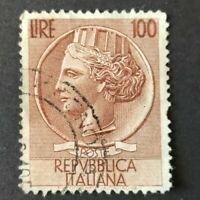Italy 100 LIRE Repvbblica Italiana Syracuse Wheel