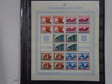 GERMANY WW2 Nazi   Occupation Serbia 1943 Full sheet Postal MNH