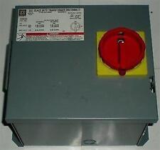 ELECTRICAL TRANSFORMER DISCONNECT 9070 SQUARE D SK750G1 230-460-115 VOLT 750VA