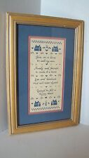 """Framed Scherenschnitte By Designs With Scissors Inc. """"Give Me A Home"""""""