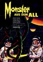 Monster aus dem All ORIGINAL A1 Kinoplakat Robert Horton / L. Paluzzi / PELTZER