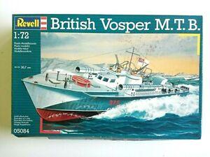 MAQUETTE REVELL BATEAU BRITISH VOSPER  M.T.B