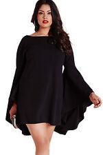Abito Maniche pipistrello Taglie forti Grandi Curvy Formosa Plus Size Dress XXL