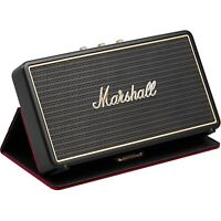NEW Marshall Stockwell Portable BLUETOOTH SPEAKER w/ Flip Cover Stereo 3.5mm USB