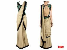 Veeraa Saree Exclusive Beautiful Designer Bollywood Indian Partywear Sari 118