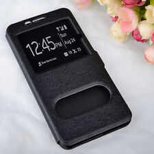 Etui Housse Coque Pochette Double Fenetre Samsung Galaxy A 5 ( Modele 2017 )