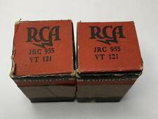 955 Acorn Receiver Ham Radio Vacuum Tubes Lot of Two