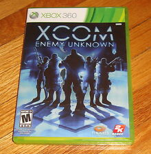 XCOM Enemy Unknown Microsoft Xbox 360 Complete