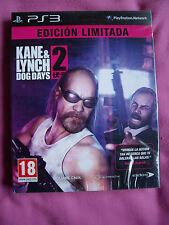 KANE & AND LYNCH 2 Dog Days -  ED LIMITADA - NUEVO - ESPAÑOL - Ps3 Playstation 3