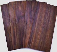 "Guitar Luthier BLACK WALNUT Head Plate Tonewood Thin Inlay Wood 7 1/2"" X 3 1/2"""