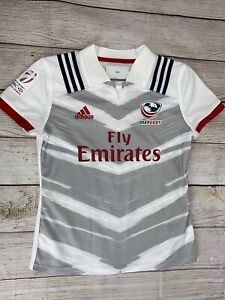 Adidas Men's Team USA Rugby Player Issue Official GPS Jersey Size Large