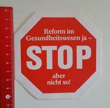 Aufkleber/Sticker: Reform im Gesundheitswesen (250716106)