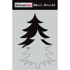 Darkroom Door Small Stencil - Christmas Tree DDSS032