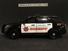 Passaic County NJ Sheriff 1:24 Scale Ford Explorer SUV Replica
