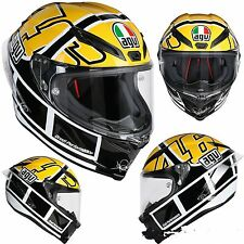 CASCO AGV CORSA R E2205 TOP PLK VALENTINO ROSSI GOODWOOD GOOD WOOD TAGLIA S