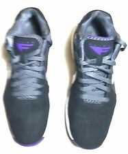 Men's NIKE Air  Max Flight 11 Black/purple Leather Sneakers Shoes  Size 7.5