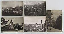 5x Tschechien Tschechoslowakei ~1950/60 ua. Jested, Chlumec, Letovice, Novy Bor