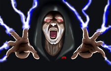 Emperor Sith Lord Darth Sidious Star Wars warrior 11x17 signed print Dan DeMille