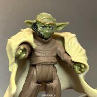 "Star Wars Jedi Master Yoda Action Figure 2.5/"" LOOSE"
