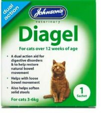 Johnsons Diagel Cat 3-6kg - Aids Constipation & Digestive Disorders Dual Action