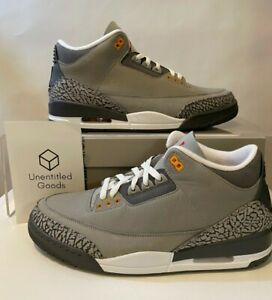 Nike Air Jordan 3 Retro Cool Grey 2021 - Size 11.5 - FREE SHIPPING