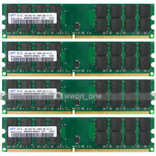 Samsung 16GB 4x4GB PC2-6400 DDR2 800 240PIN DIMM High Density Memory For AMD CPU